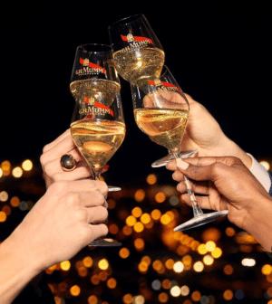 Seis claves para conseguir el brindis perfecto con G.H MUMM, por todo lo bueno que está por llegar