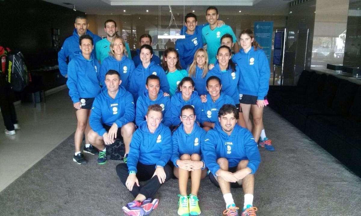 Selección de Aragón Padel