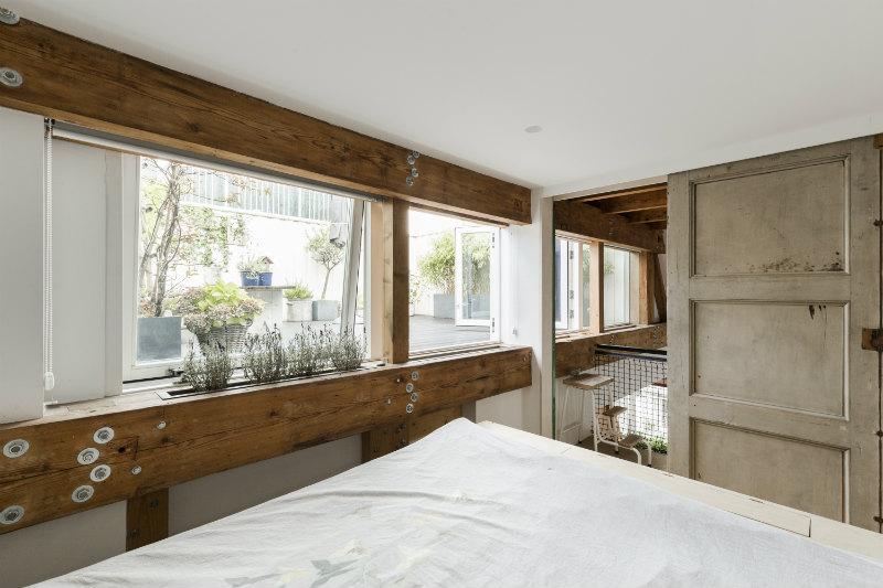 12 - Loft industrial en Amsterdam - dormitorio principal
