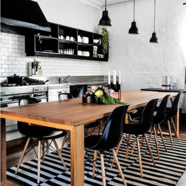 1 - mesas de comedor en la cocina