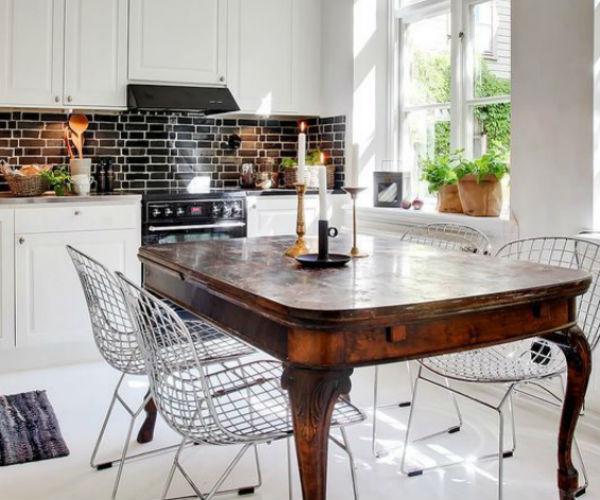 10 - mesas de comedor en la cocina