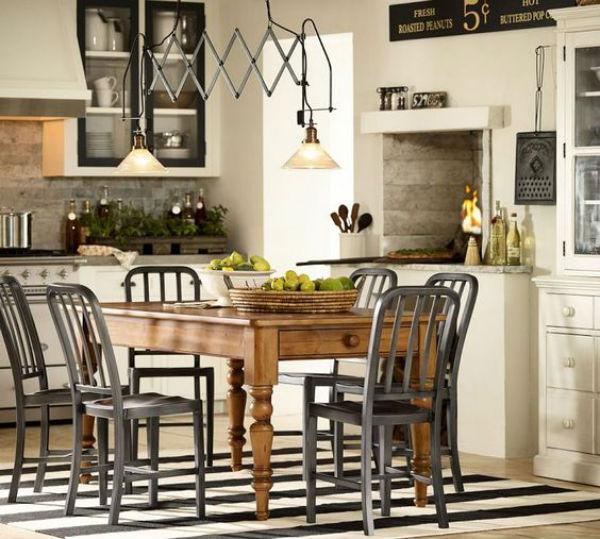 8 - mesas de comedor en la cocina