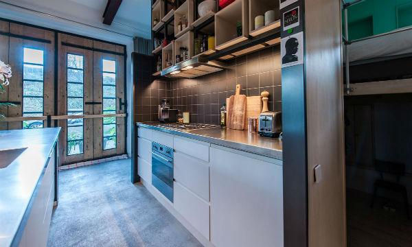 9 - loft industrial color - cocina