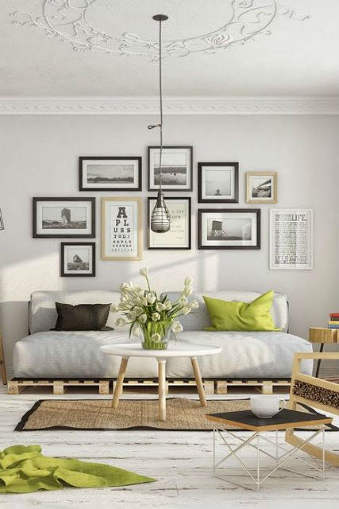 como crear una gallery wall