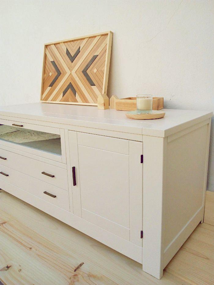Renovando el aspecto de unos muebles de salón
