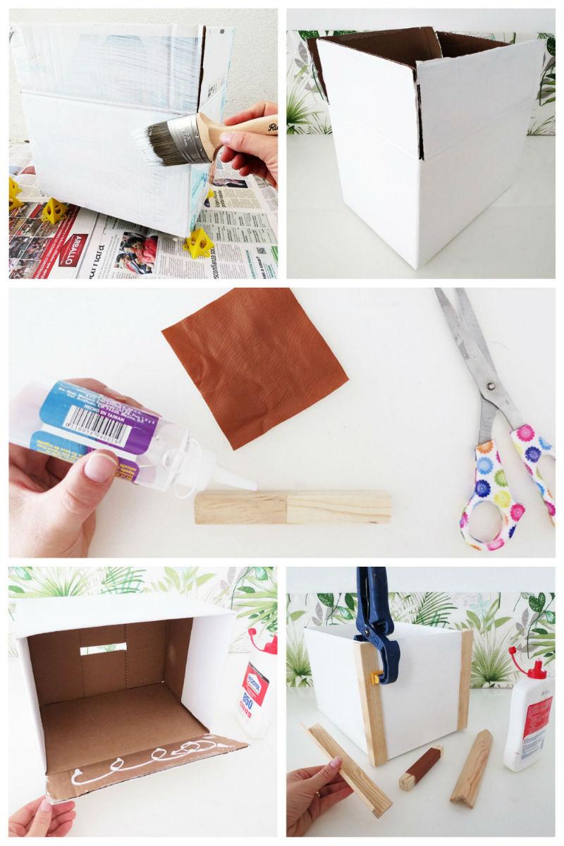 1 - DIY Reciclando una caja de carton