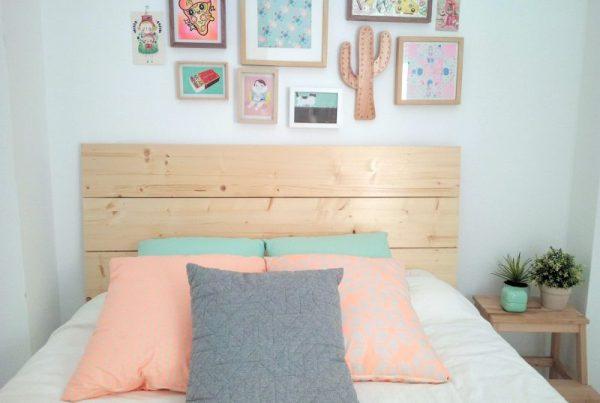 Originales cabeceros de madera para tu dormitorio