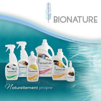Bionature: produits ménagers et corporels écologiques