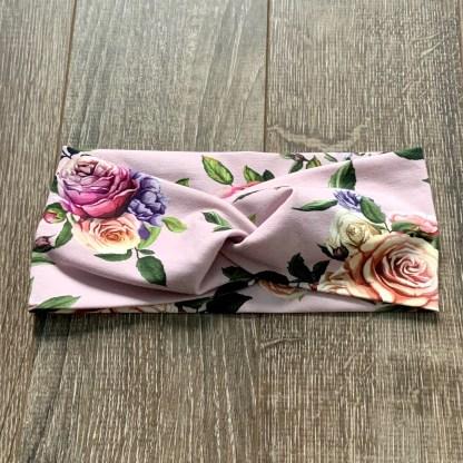 bandeau roses