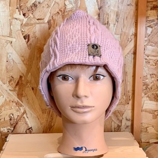 lune tuque rose