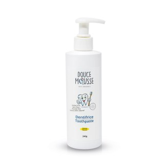 douce mousse dentifrice banane