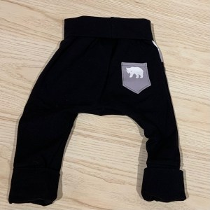 lune pantalon poche ours