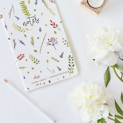 carnet de notes soies couverture xavier