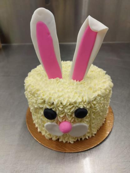 gâteau de pâques pâtisserie le far lapin québec