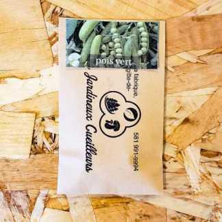 semence pois vert jardineux cueilleurs québec