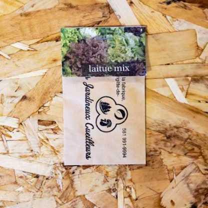 semences laitue mixte les jardineux cueilleurs québec
