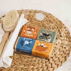 savonnerie des diligences coffret 4 savons