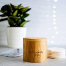 ola bamboo cofrret de tampons demaquillants