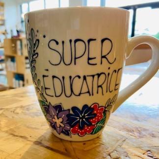 cadeau éducatrice super éducatrice