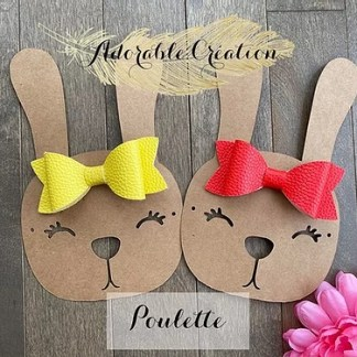 boucle poulette québécoise adorable création