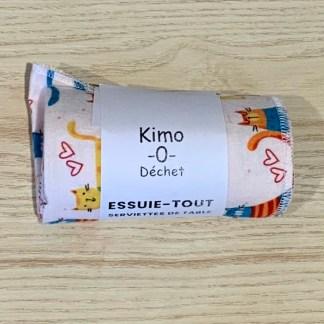 kimo-0-dechet essuie tout chats