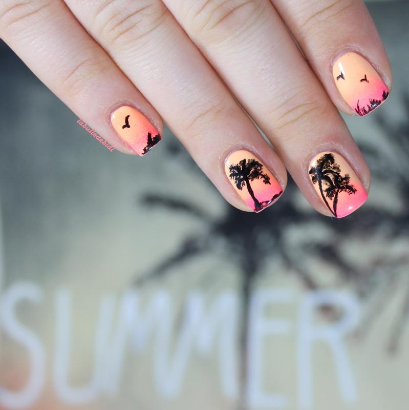 Sunset nails, des vacances et un concours