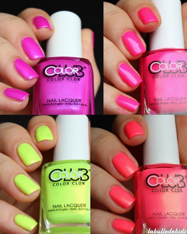 Poptatsic, les nouveaux neon Color Club de mon coeur