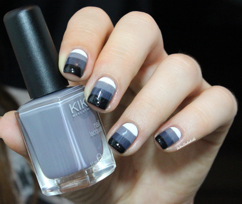 De la grisaille jusque sur mes ongles!