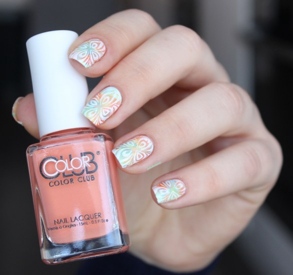 color club-ticket to paradise-nailart (4)
