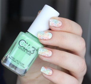 color club-ticket to paradise-nailart (6)