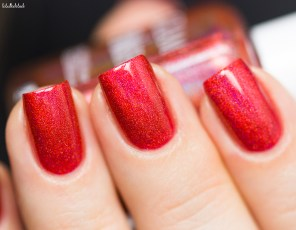 GLAM POLISH-NO LEI'S OVERS-HIBISCUS HIDEAWAY_3