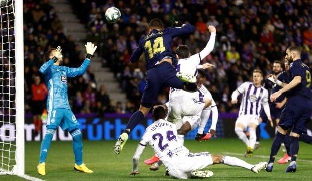 Kalahkan Valladolid, Real Madrid Kudeta Barcelona