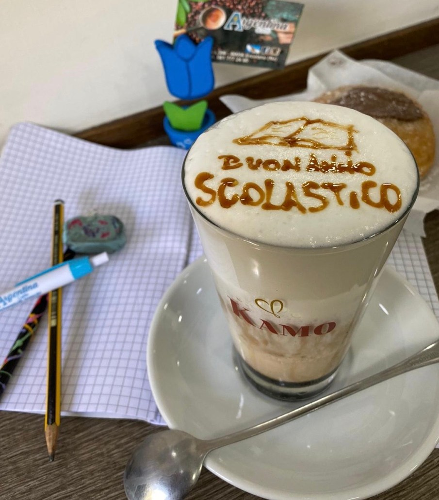 Caffè Kamo cappuccino