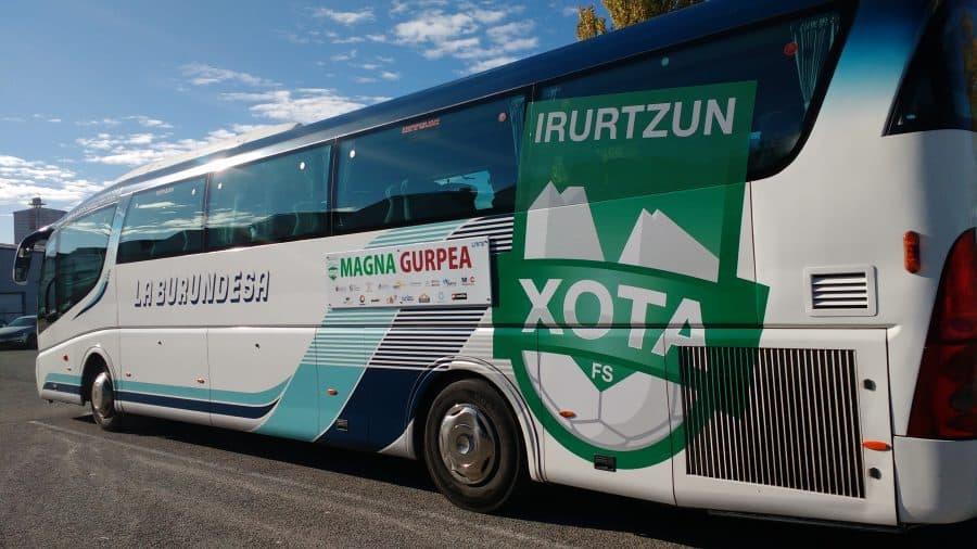 la burundesa autobus oficial del xota magna gurpea