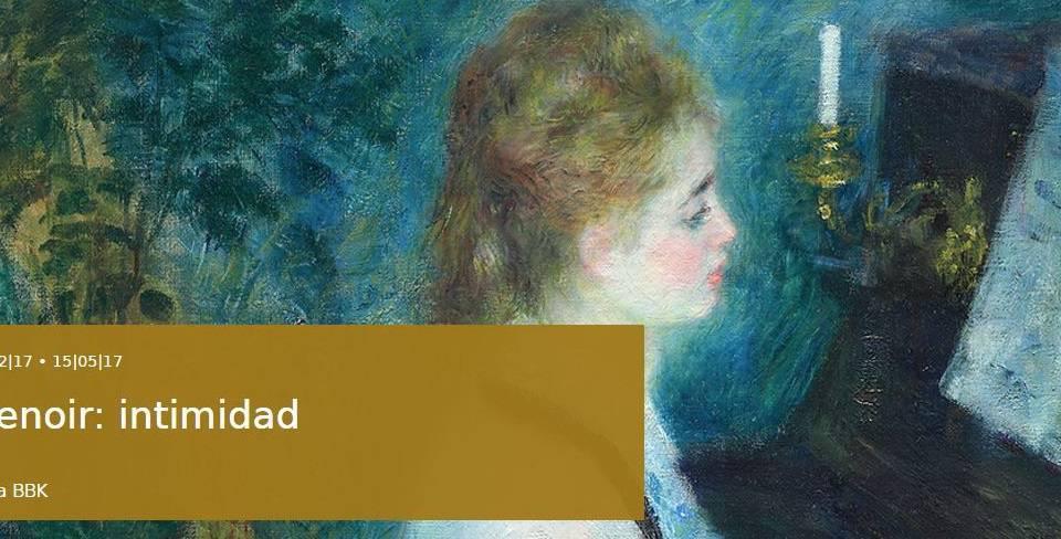 Renoir Intimidad Bellas Artes de Bilbao