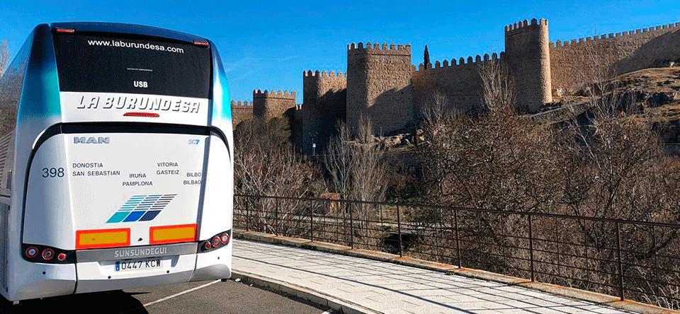 Alquiler autobuses Pamplona