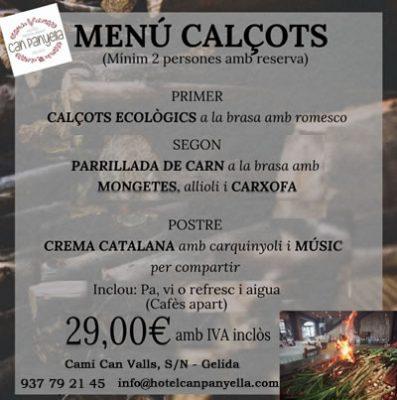 La Bústia - Can Panyella - Calsots