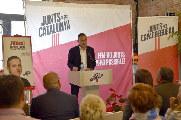 La Bustia presentacio Jordi Mestes Junts per Esparreguera