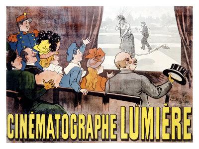 Dibujo Cinematógrafo Lumière