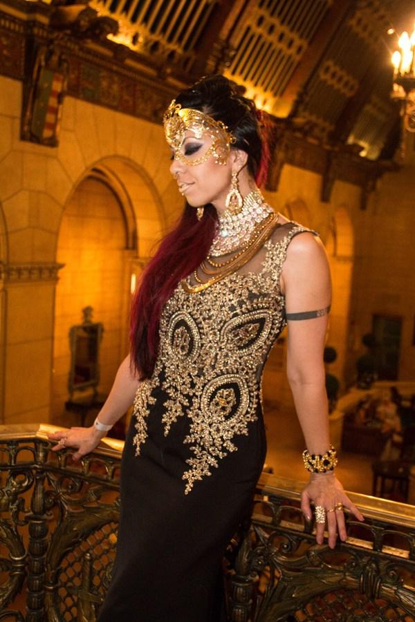 Labyrinth Masquerade Ball Costume