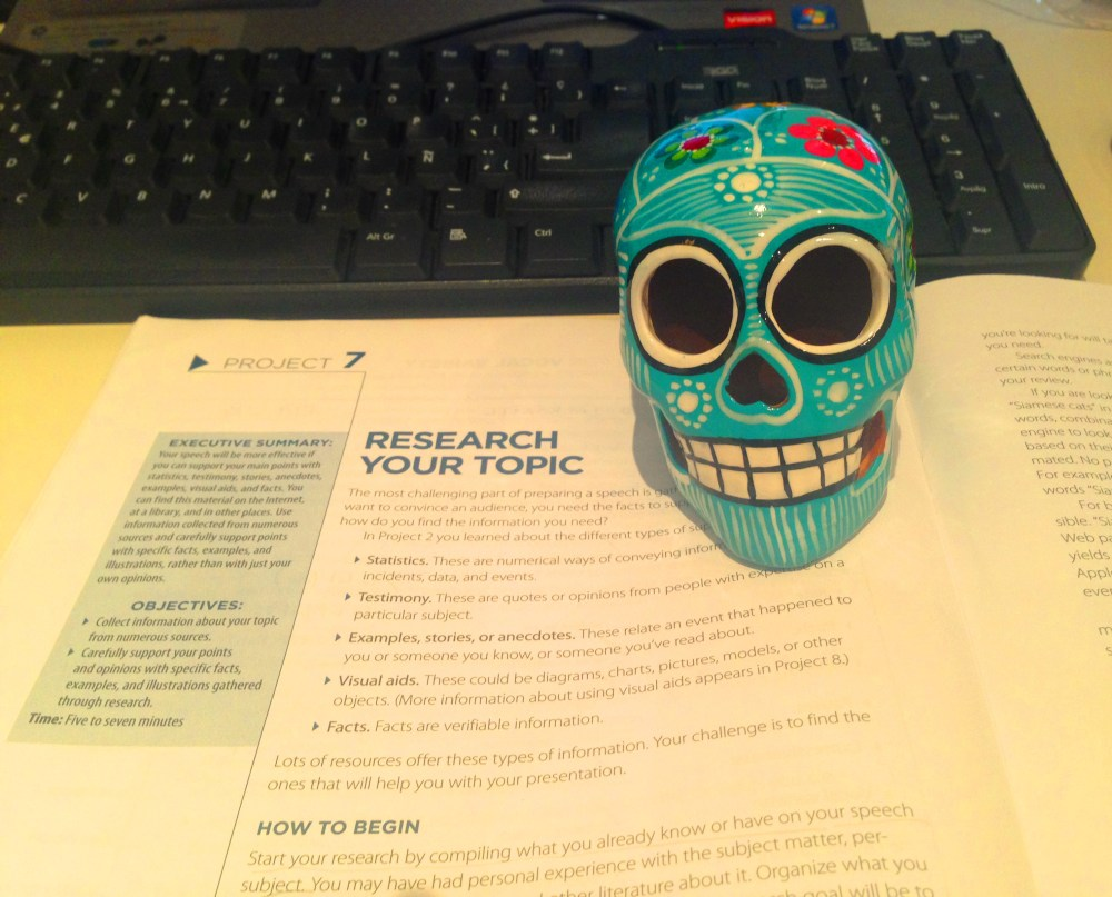 Speech 7, Research Your Topic.