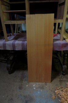 Panel de tablas machihembradas