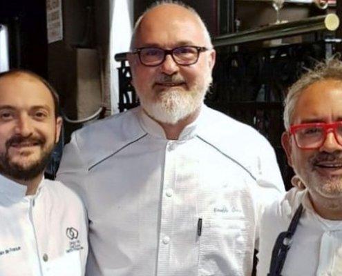 """""""Los Tres Cabrones"""" se llamó el menú que se presentó en la cena del pasado 20 de septiembre en el Hotel Sofitel La Reserva Cardales."""