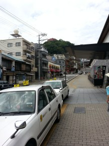 Outside Nagasaki Museum of History and Culture