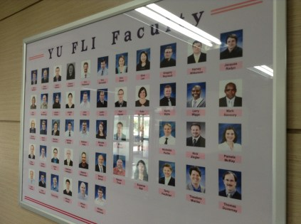 YU FLI Faculty
