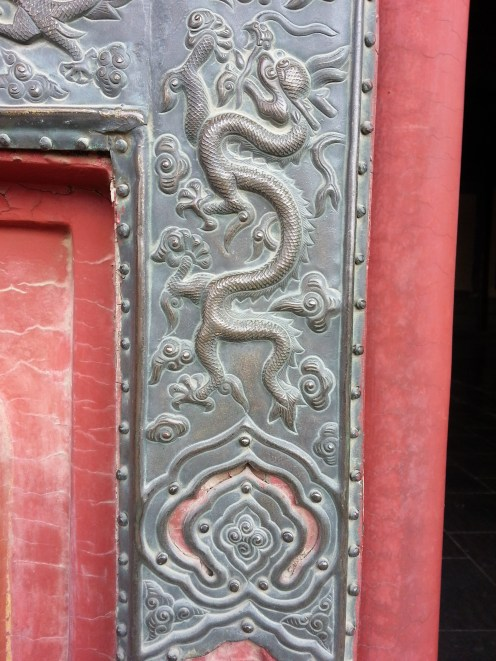 Decorative door molding