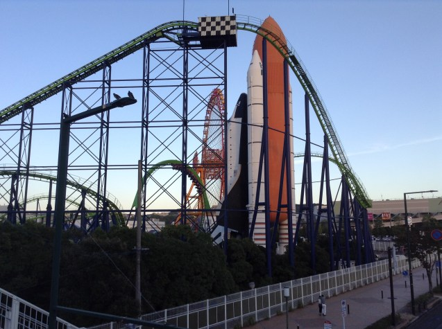 Venus is a cool roller coaster too