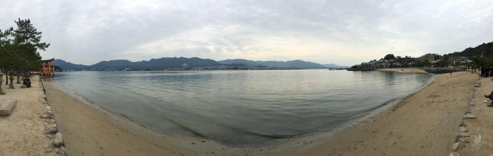 Panaramic view of Miyajima