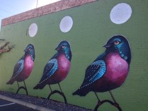 Located on the corner of 3rd St. and Roosevelt in Phoenix, these birds stand watch over the city.