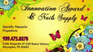 Innovation Award & Nails Supply